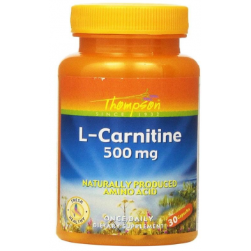 L-CARNITINE 500 mg - 30 Caps