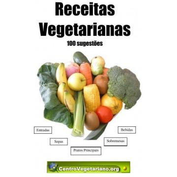 Livro Receitas Vegetarianas